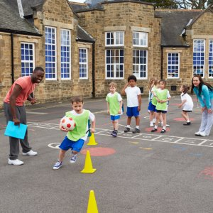 Children in PE Lesson 2