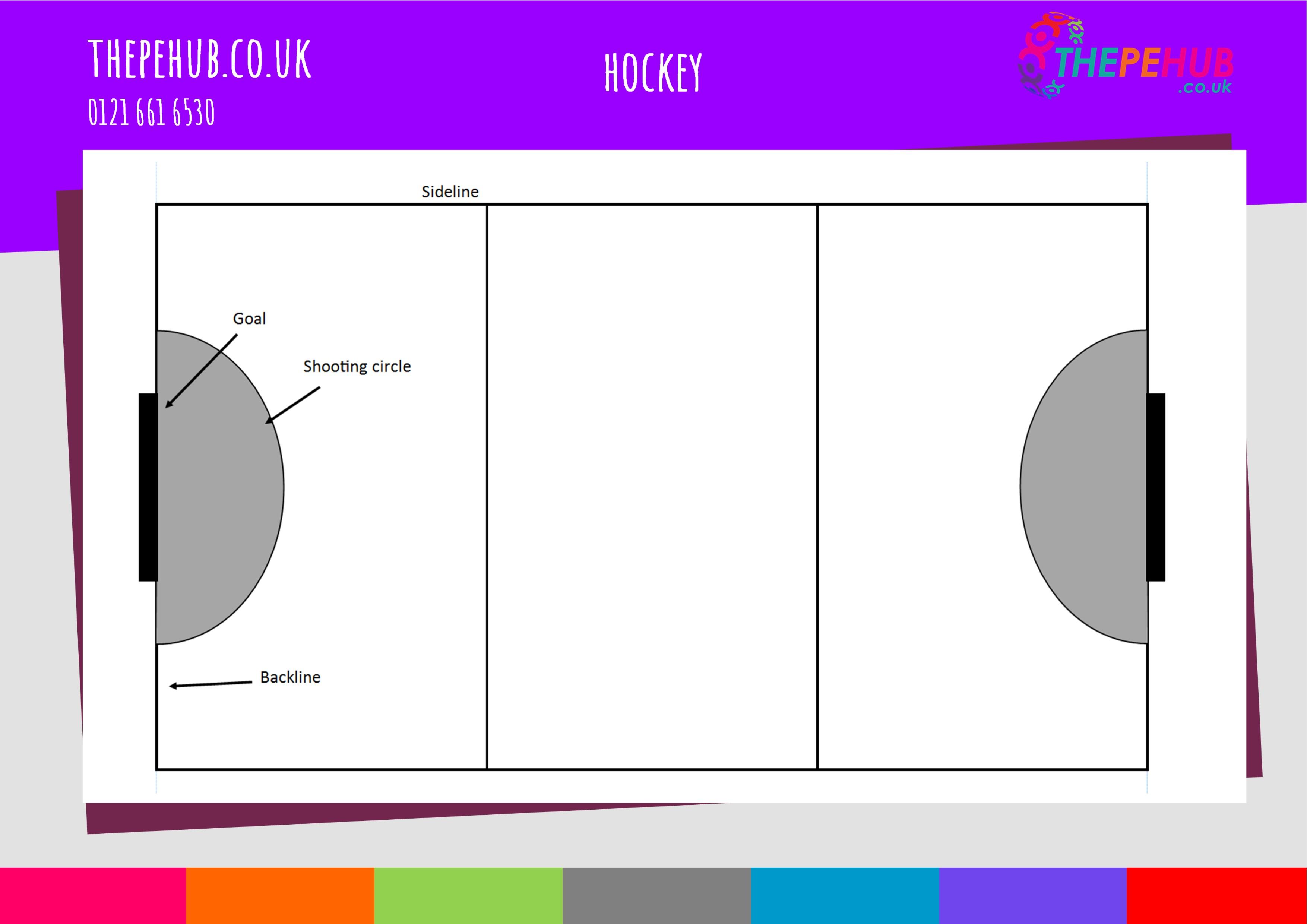 School games hockey pitch layout